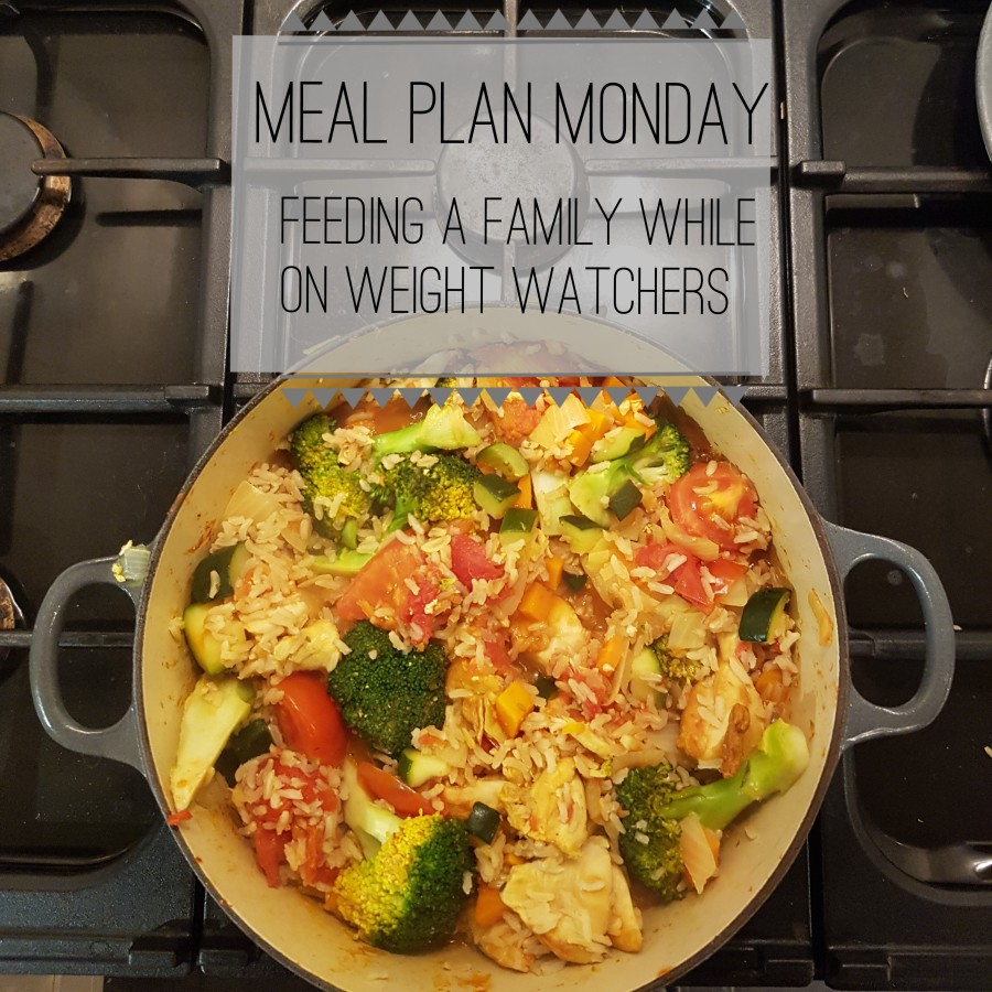 Meal Plan Monday – Getting Started On Weight Watchers