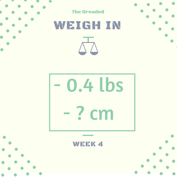 weight in week 4